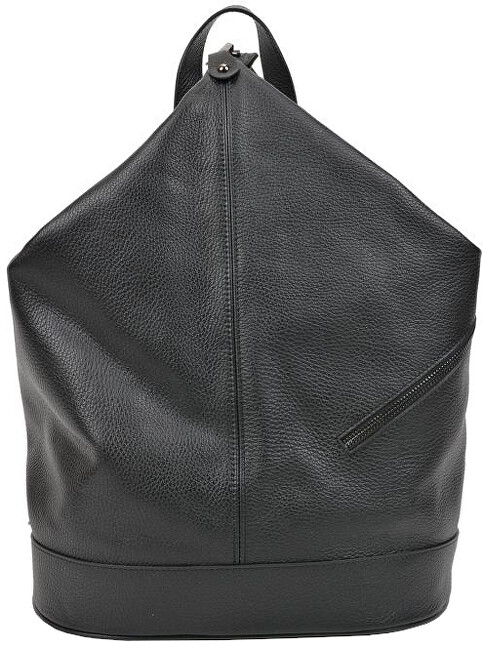 Carla Ferreri Női bőr hátizsák AW19CF1545 Nero