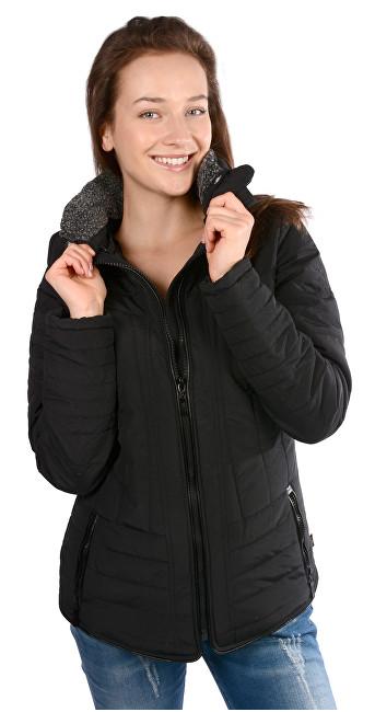 Cars Jeans Dámska čierna bunda Demelza Black 4256901 S 9dda5eabc8f