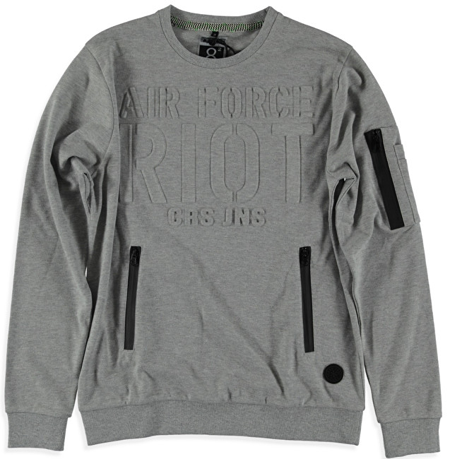 Cars Jeans Hanorac stilat pentru bărbați Galle Gray 4352653 S