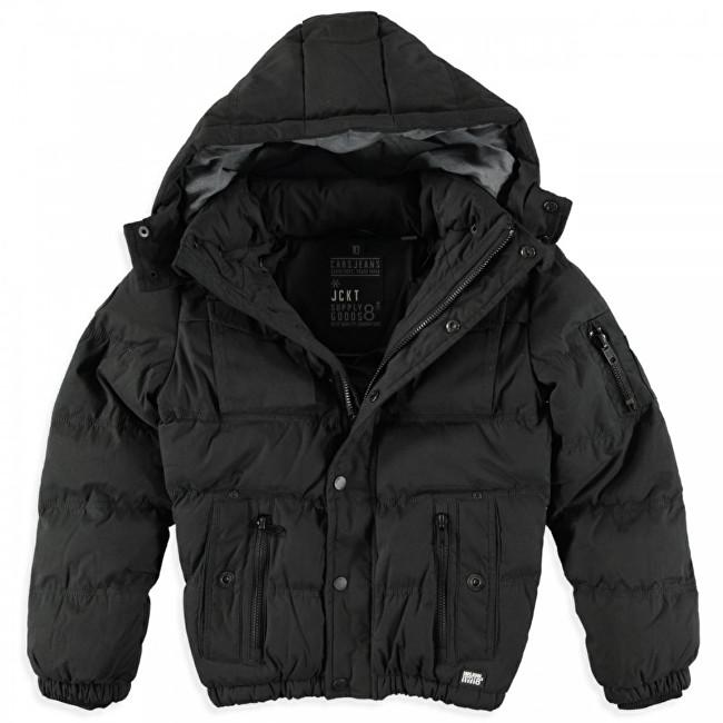 Cars Jeans Pánska čierna bunda Rease Black 4326101 M f081717a067