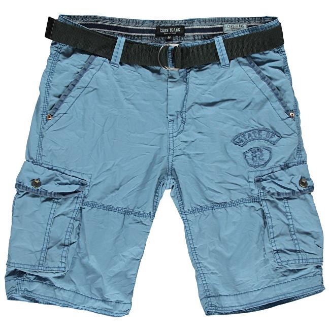 5cd2c272bad6 Cars Jeans Pánské kraťasy Grascio Grey Blue 4404371 M