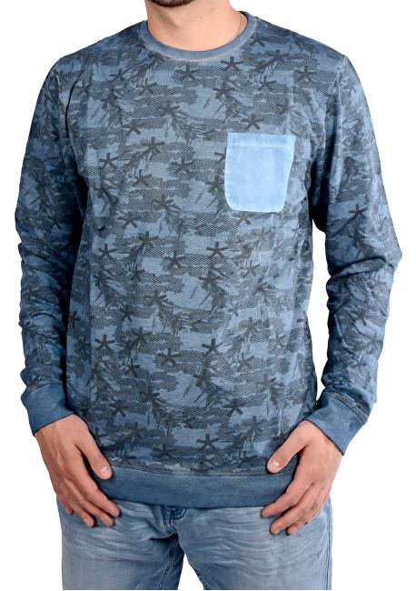 Cars Jeans Pulover albastru pentru bărbați Piazzo Indiansteel 4407249 L ... 8804116b45