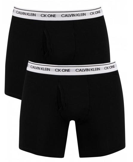 Calvin Klein 2 PACK - pánske boxerky CK One NB2384A-BNM S