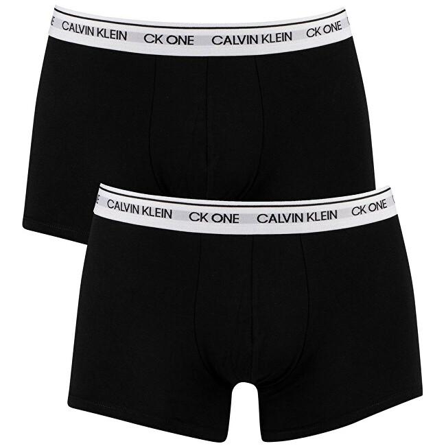 Calvin Klein 2 PACK - pánske boxerky CK One NB2385A -BNM S