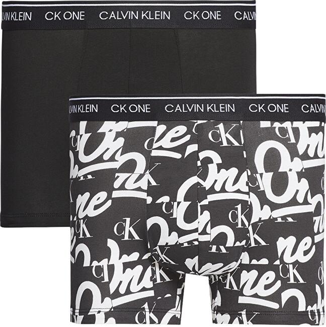 Calvin Klein 2 PACK - pánske boxerky CK One NB2385A -LOB S