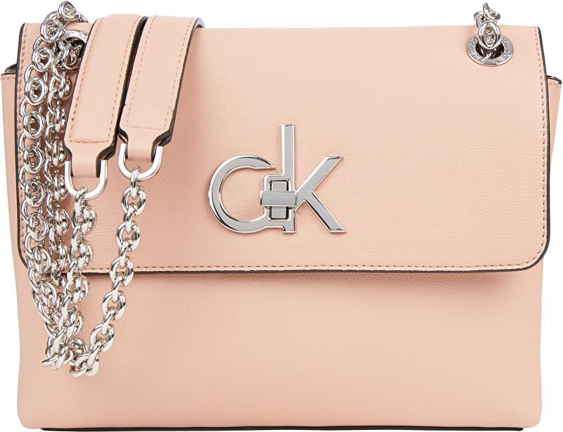 Calvin Klein Dámska crossbody kabelka Ew Conv Flap Crossbody Md K60K606675TGW