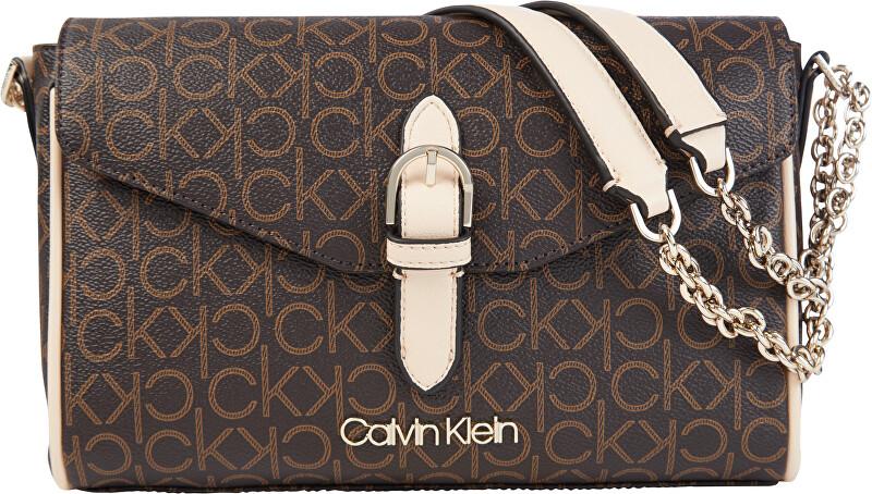 Calvin Klein Dámska crossbody kabelka Ew Conv Flap Crossbody Md K60K6071310HJ