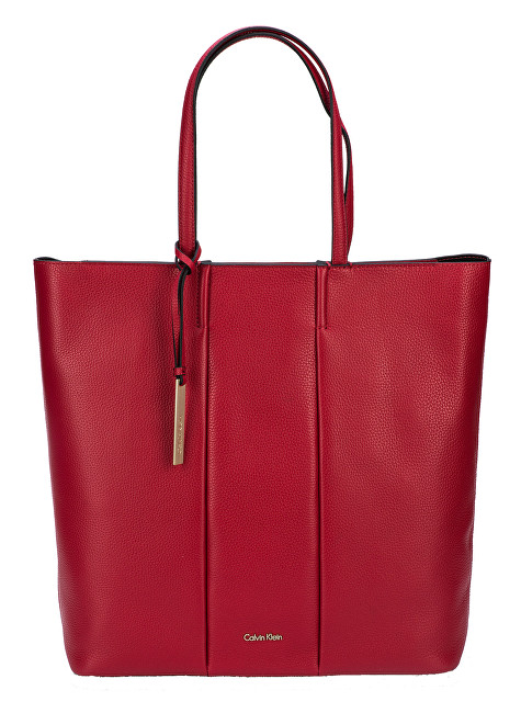 Calvin Klein Dámska kabelka Cosmopolitan Shopper Scarlet bbde01f792e