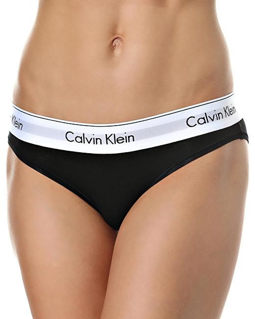 Calvin Klein Dámske nohavičky F3787E-001 Black S