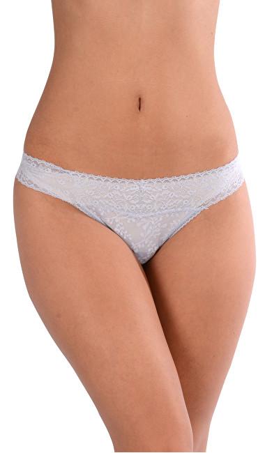 Calvin Klein Dámske nohavičky Tangá Thong Bare Lace QD3596E SBU S