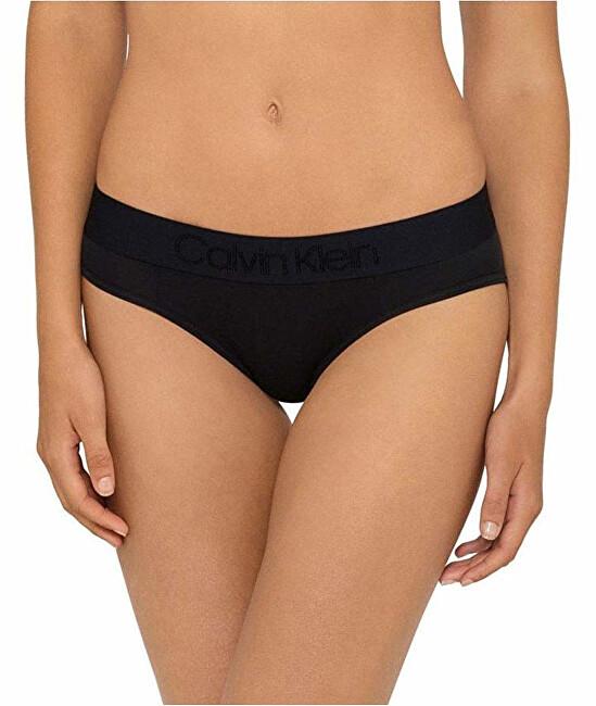 Calvin Klein Dámske nohavičky Tonal Logo Bikini QF4943E-001 Black S