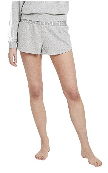 Calvin Klein Dámske kraťasy Sleep Short Statement 1981 QS6260E-020 Grey Heather S