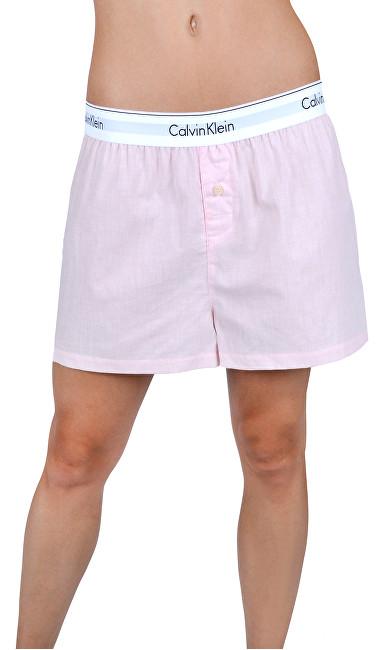 4df287e6bcf Calvin Klein Dámske pyžamo - kraťasy Short Nymphs Thigh Heather QS6080E  -PHY XS
