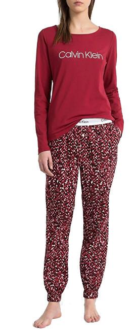 Calvin Klein Dámske pyžamo L / S Pant Set QS6154E-ABQ M