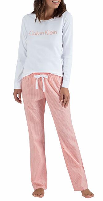 Calvin Klein Dámske pyžamo L / S Pant Set QS6350E-WTQ M