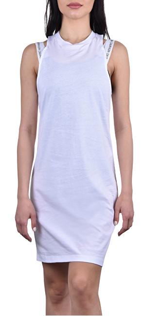 Calvin Klein Dámske šaty Tank Dress KW0KW00709-143 PVH White L
