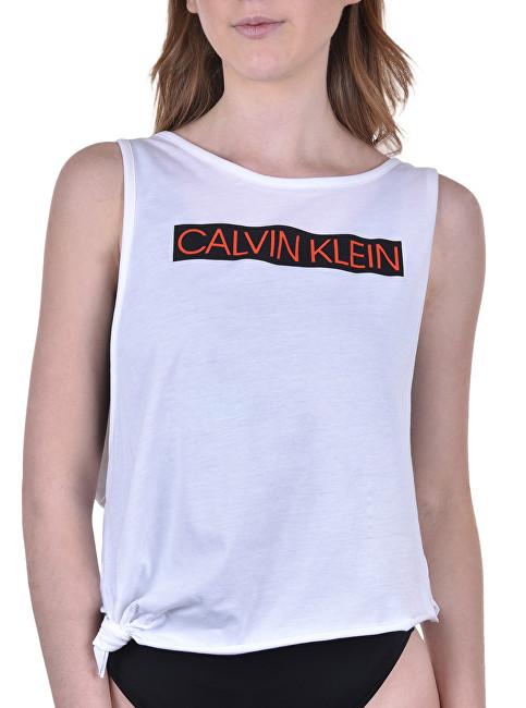 a8d92fa5d Calvin Klein Dámske tričko Side Knot Tank KW0KW00698-143 PVH White S e-shop  >>