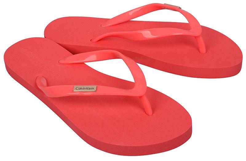 79757a967cc7 Calvin Klein Dámske žabky FF Sandal 623 KW0KW00395 L