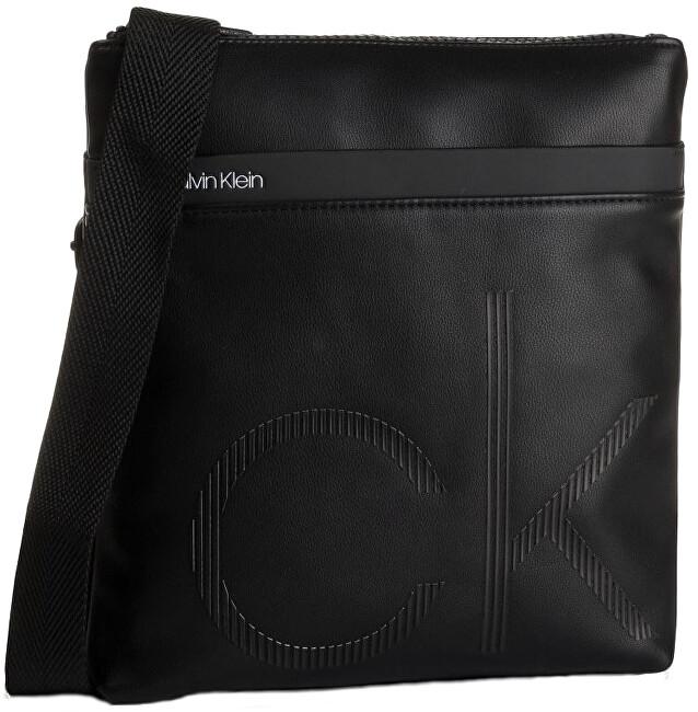 Calvin Klein Pánska crossbody taška Ck Up Flat Crossover Black