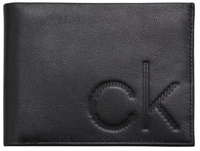 Calvin Klein Pánska peňaženka Ck Up 5Cc Coin Black