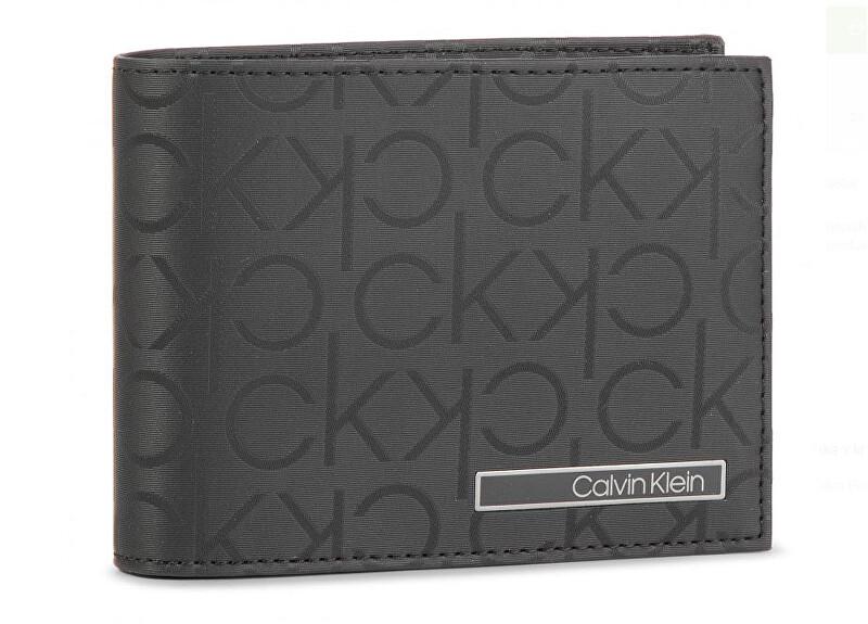 Calvin Klein Pánska peňaženka Industrial Mono 5 Cc Coin Black