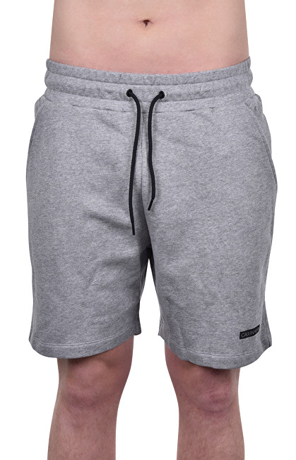 Calvin Klein Pánske kraťasy Terry Short KM0KM00322-033 Grey Heather M
