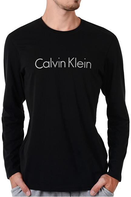 ef9cbaa32 Calvin Klein Pánske tričko Comfort Cotton L-S Crew Neck NM1345E-001 Black M  e-shop >>