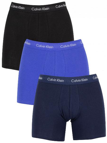 Calvin Klein 3 PACK - pánske boxerky NB1770A -4KU L