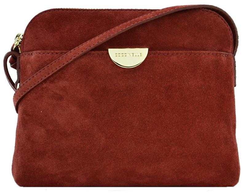 Coccinelle Luxusní kožená kabelka Half CV355D302R00