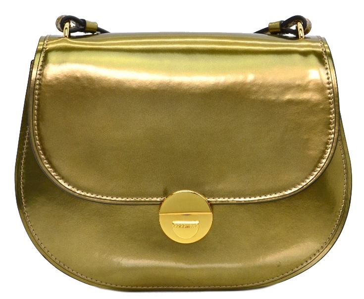 Coccinelle Luxusní kožená kabelka Violaine Mirror Coccinelle