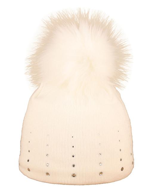 CAPU Zimné čiapky 1672-A White