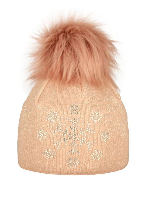 CAPU Zimné čiapky 1743-C Pink