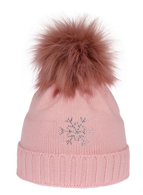 64a9fa889 CAPU Zimná čiapka 670-A Pink
