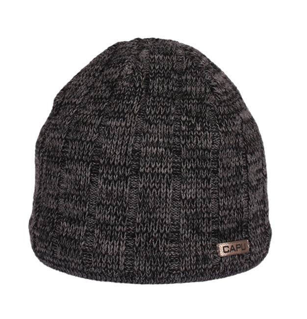 CAPU Palarie de iarna 735-B Dark Grey
