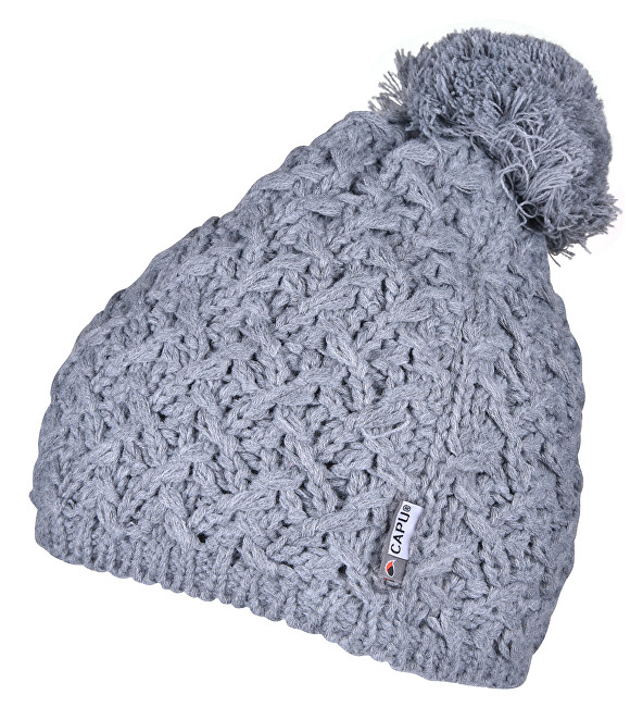 0f52f615c CAPU Zimná čiapka 823-F Grey