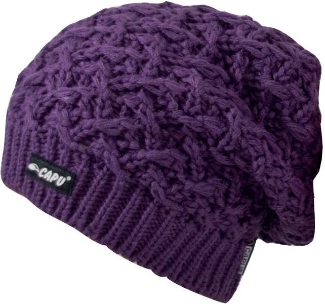 CAPU Zimné čiapky 18823-A Purple