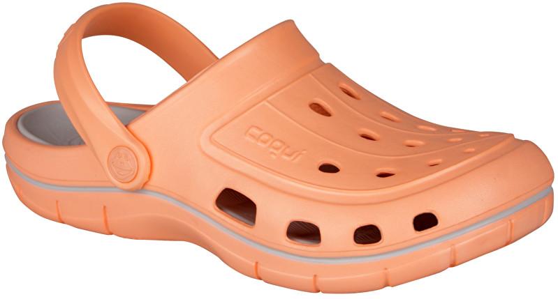Coqui Papuci pentru femei Jumper Coral/Khaki Grey 6352-100-6046 36