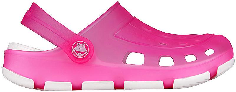 Coqui Papuci pentru femei Jumper Fluo Pink/White 6362-100-3832 37
