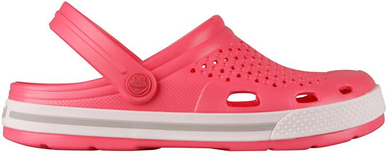 Coqui Doamnelor papuci Lindo New Rouge/Khaki Grey 6413-100-4246 38