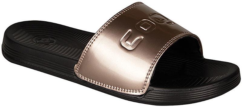 Coqui Dámske šľapky Sana Black / Bronze 6343-100-2297 40