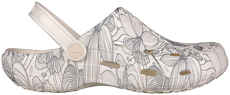 Coqui Pantofi pentru femei Tina Pearl/Blooming Flowers 1353-207-3100 39