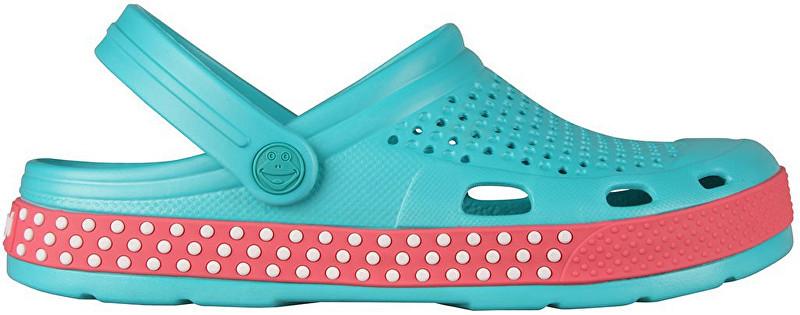 Coqui Papuci pentru femei Lindo Turquoise/New Rouge 6415-406-1942 40