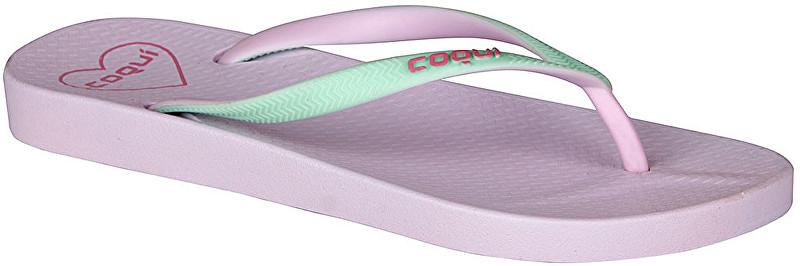 Coqui Flip flops pentru femei Kaja Pastel Lila/Pastel Mint 1326-100-5859 36