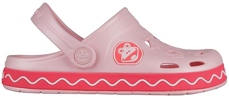 ec8383674 Coqui Detské šľapky Froggy 8801 Candy pink/New rouge 101971 32-33