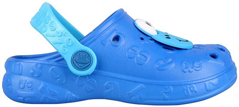 Coqui Dětské pantofle Hoppa 9381 Royal 102206 26-27 06ea202de1