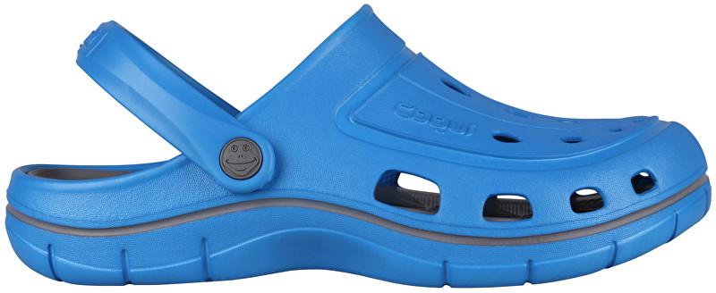 Coqui Pantofi pentru bărbați Jumper Sea Blue/Dk.Grey 6351-100-4725 41
