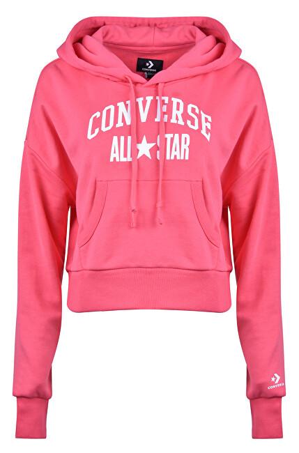 Converse Dámska mikina Converse All Star Pullover Hoodie Lt Strawberry Jam S
