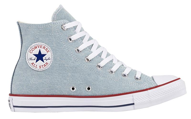 Converse Pánske členkové tenisky Chuck Taylor All Star Light Blue/White/Brown 42,5