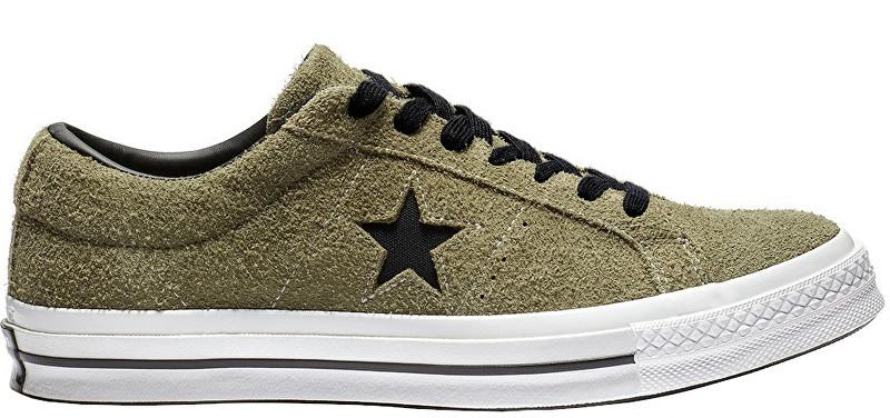 8d6f02a0e3 Converse Tenisky One Star Hunter Green-White 41
