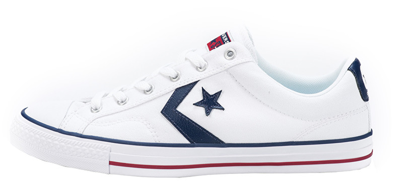 Converse Tenisky Star Player White / White / Navy 44